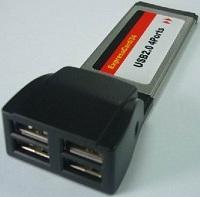 Express Card USB2.0 Controller for Notebook