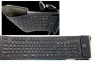 Flexible AirTouch Keyboard Foldable