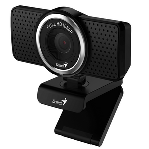 Genius ECam 8000 Black FHD 1080p webcam with Mic Rotation 360°