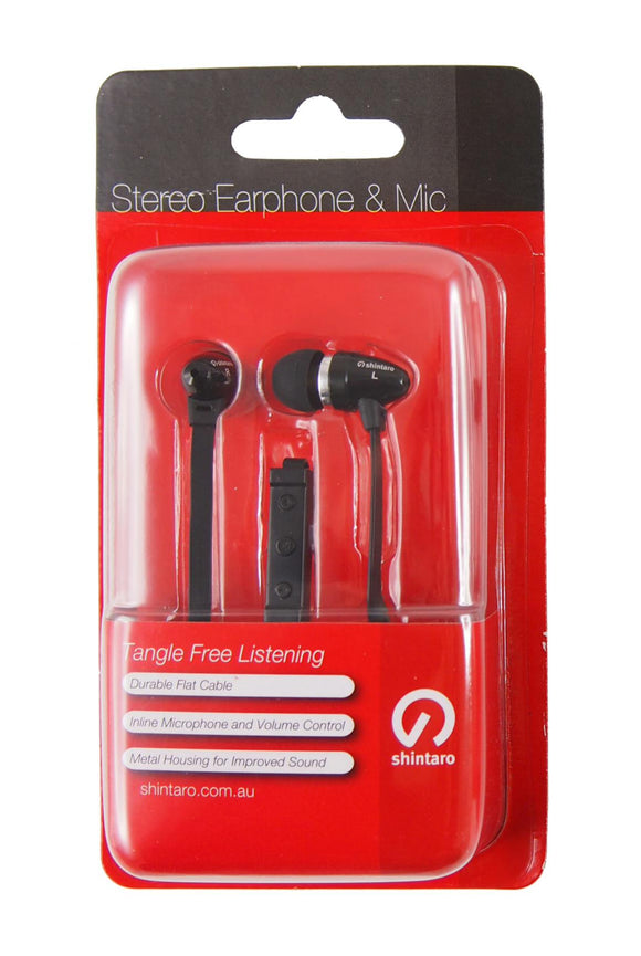 Shintaro Earphones with Inline Microphone