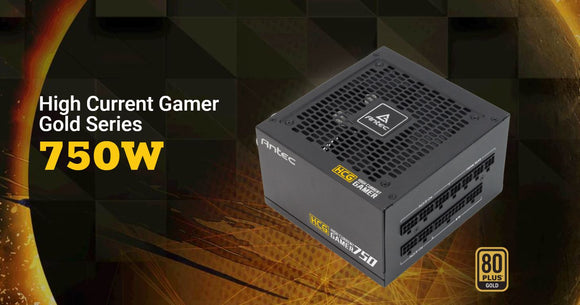 Antec High Curent Gamer 750W 80+ Gold Fully Modular PSU