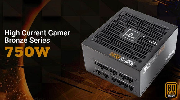 Antec 750W High Current Gamer 80+ BRONZE Fully Modula PSU