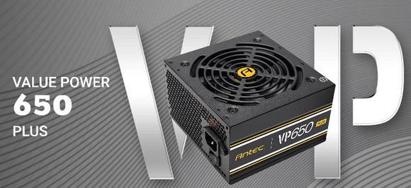 Antec VP650P PLUS 650W 80+ Certified PSU
