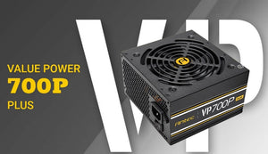 700W Antec VP700 PLUS Silent Fan PSU