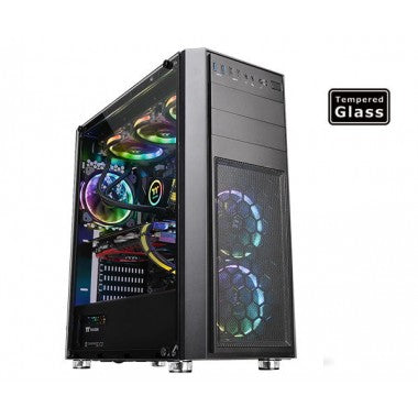 Thermaltake Versa H26 Tempered Glass Edition Mid Tower Case