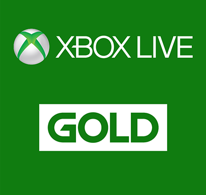 Xbox LIVE Gold Membership Card - Microsoft (ESD) Electronic Software