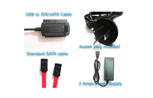 "Adapter USB2 to IDE & SATA 2.5""/ 3.5""/ DVD"