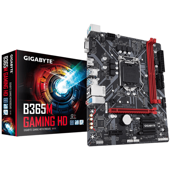 Gigabyte B365M Gaming HD Motherboard