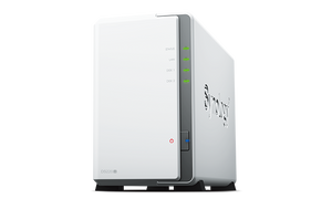 "Synology DiskStation DS220j 2-Bay 3.5"" Diskless NAS"