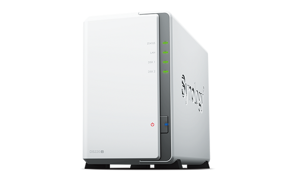 Synology DiskStation DS220j 2-Bay 3.5