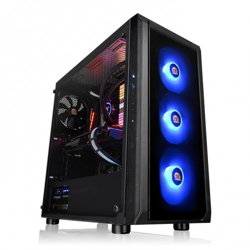 Thermaltake Versa J23 RGB Tempered Glass Edition Mid Tower Case
