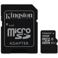 MicroSD 16GB Kingston Canvas Select