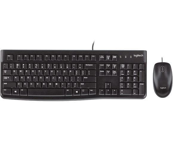 Logitech MK120 Keyboard & Mouse USB