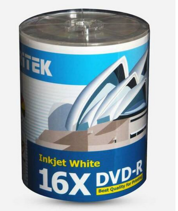 Ritek DVD 16x Media Printable Tub100