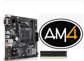AMD CPU, Motherboard and RAM Bundle