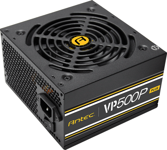 Antec VP500P PLUS 500W PSU. 120mm Silent Fan