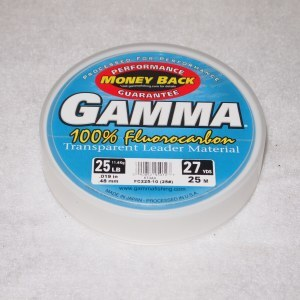 Gamma Fluorocarbon Leader Material 27yards