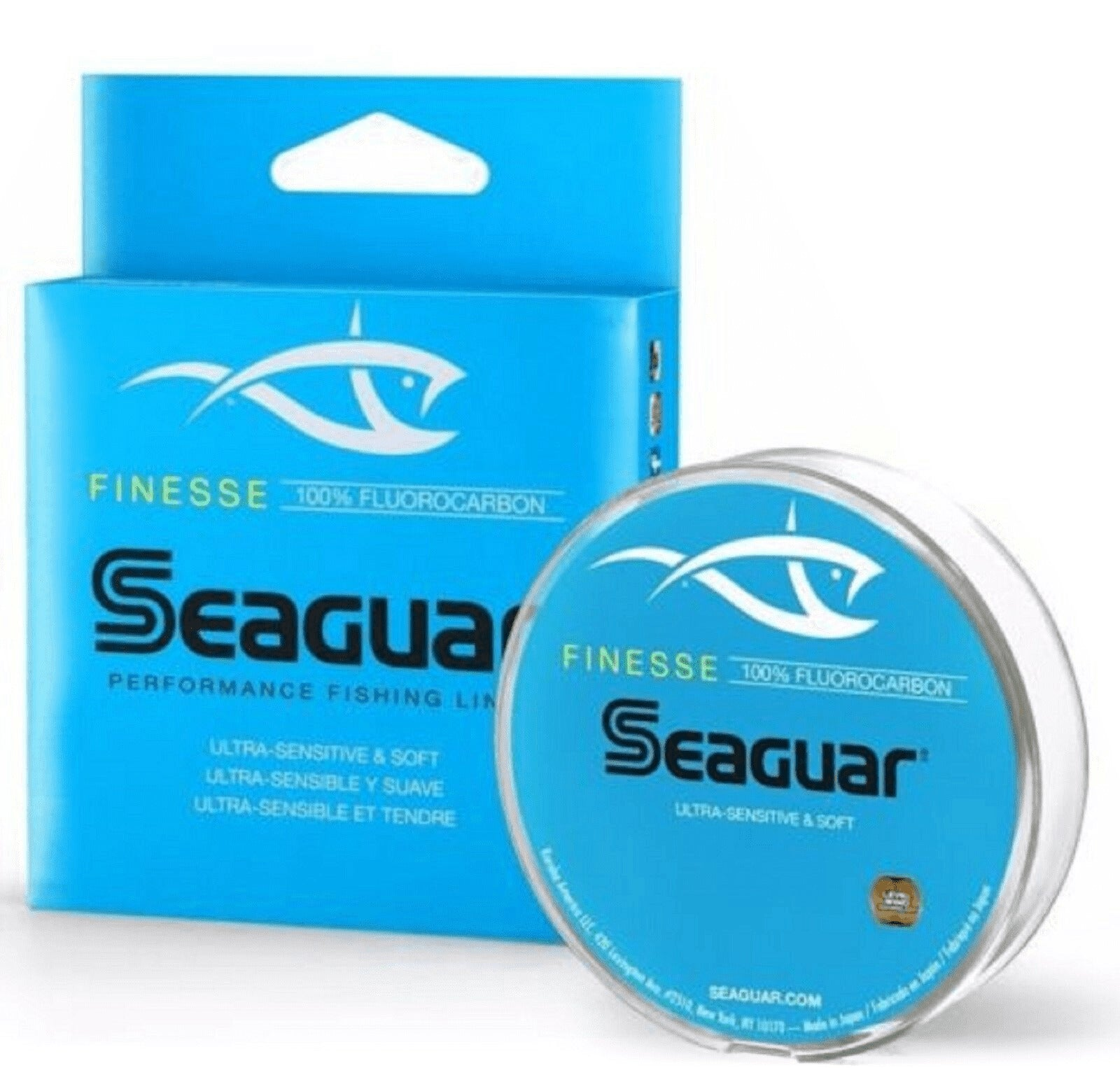 Seaguar Red Label Fluorocarbon Freshwater /& Saltwater Fishing Line 175-200 Yards