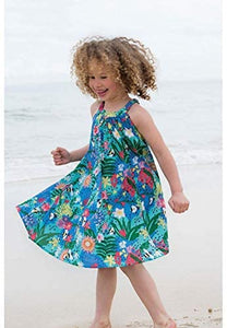 VIVIAN & VINCENT Girl's One Piece Summer Beach Dress
