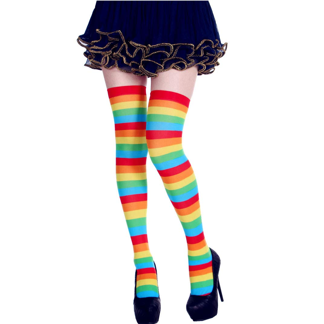 StripeSocks1911-Rainbow