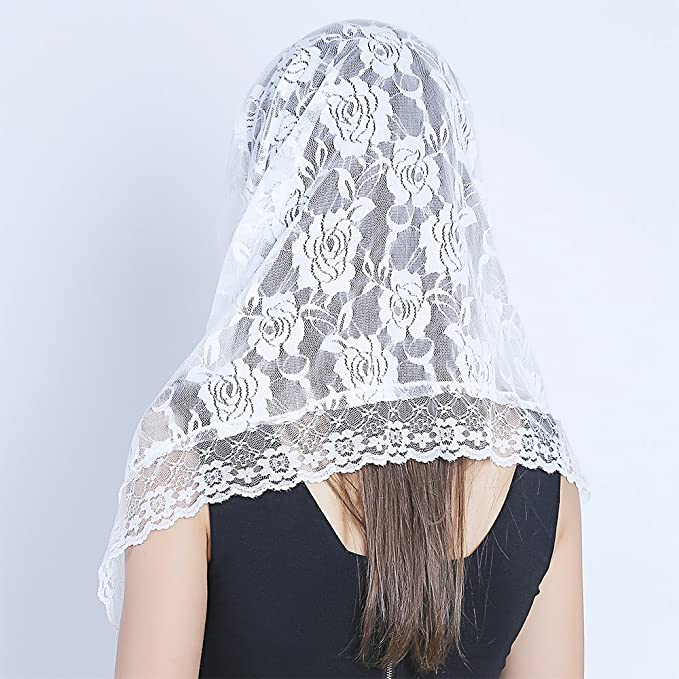 Lace Mantilla Catholic Veil