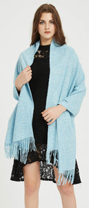 Premium Soft Elegant Solid Color Cashmere Scarf Shawl Wrap