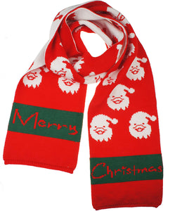 Womens Mens Boys Girls Soft Light Weight Christmas Red Cashmere Scarf