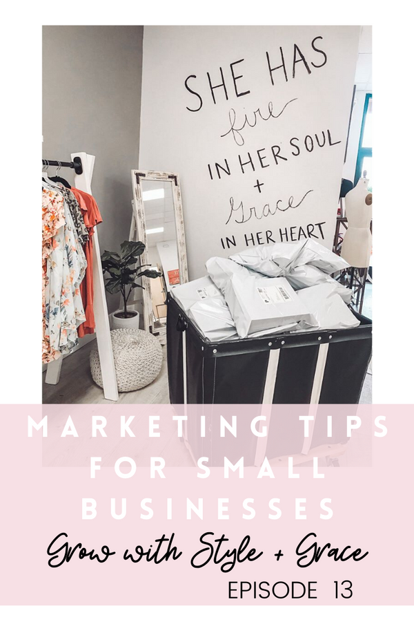 Podcast Episode 13: Marketing Tips