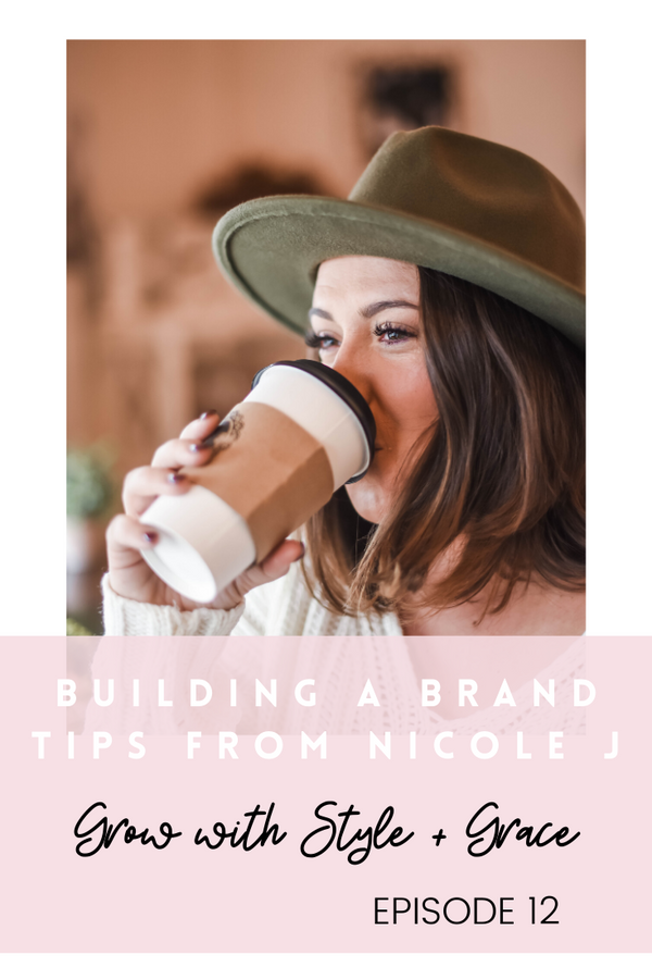 Podcast Episode 12: Building a Brand