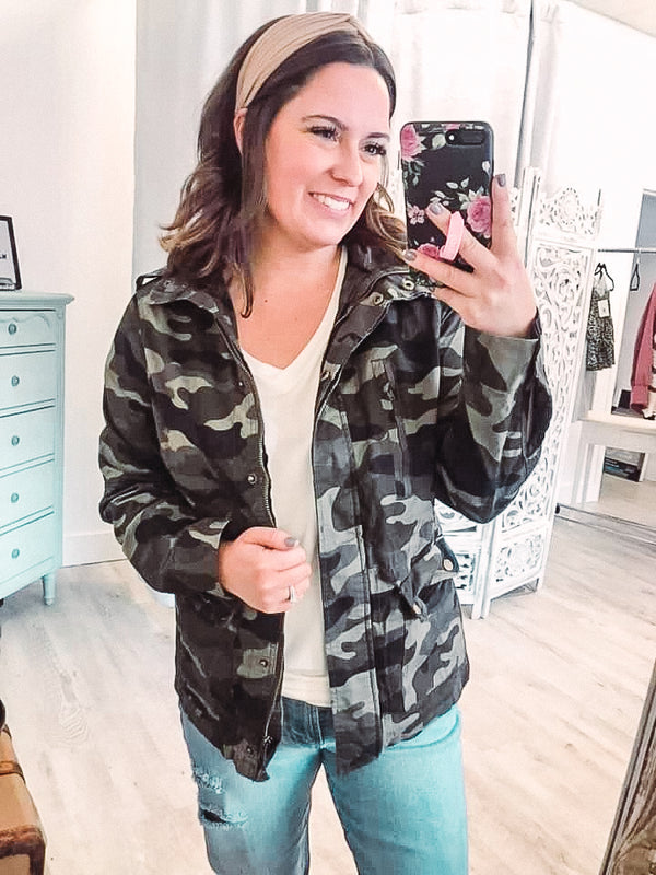 MY FAVORITE CAMO JACKET
