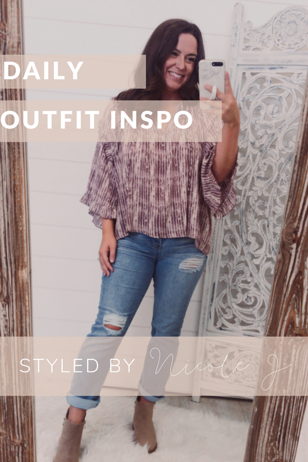 Daily Outfit Inspo : Fall Blouse