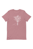 Taupe LS Deep V Neck Top