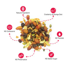 Load image into Gallery viewer, EAT Anytime Combo Pack of Cranberry, Orange Dry Fruit Trail Mix & Papaya, Pineapple Dried Fruit Trail Mix, 400g (2 x 200g)