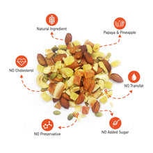 Load image into Gallery viewer, EAT Anytime Trail Mix Combo Pack, Dry Fruits, Dried Fruits, Mixed Nuts & Seeds (Papaya Pineapple & Fig, Raisin), 400 g