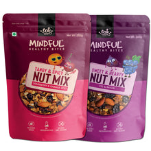 Load image into Gallery viewer, EAT Anytime Combo Pack of Cranberries & Orange Zest Trail Mix - Fig & Raisins Trail Mix, 400g