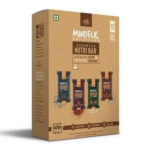 Millet Bars + Trail Mixes