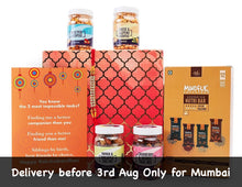 Load image into Gallery viewer, Healthy Rakhi Gift Hamper- Red Box including Rakhi