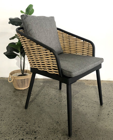 Byron Bay Outdoor Chair bamboo Side Angle