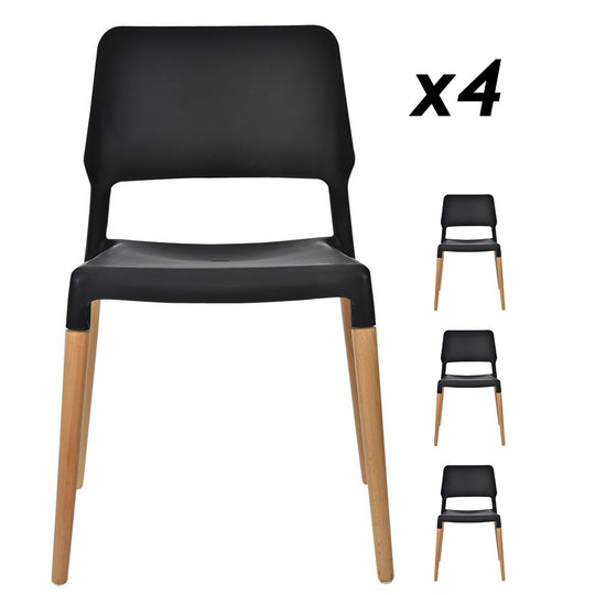 Mack Dining Chair Package - Black