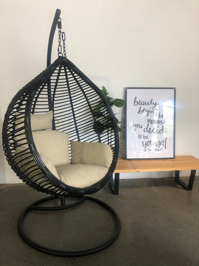 New Design Single Hanging Egg Chair