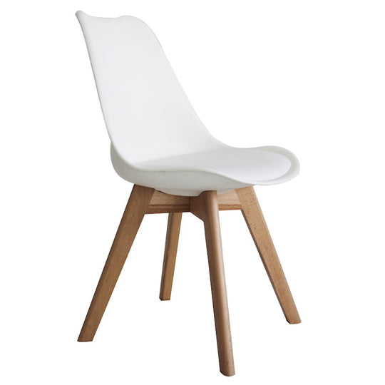 Eames Oslo Roxy Chair White