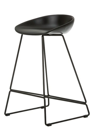 Hee Welling Sled Stool Side