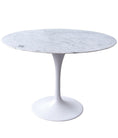 Quality Replica Eero Saarinen Tulip 120cm Dining Table Italian Marble