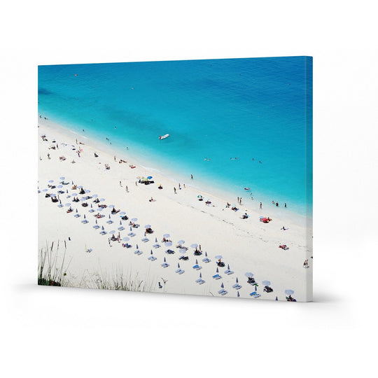 Canvas Print - Beach Umbrellas - 70x50