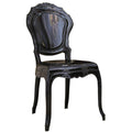 Belle Ghost Chair - Black