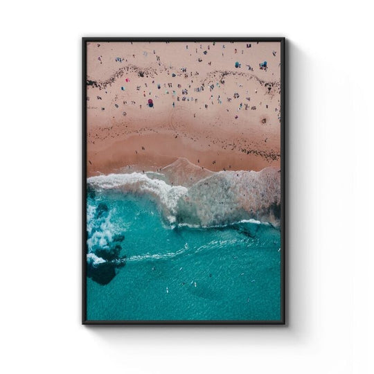Bondi Beach Print Framed