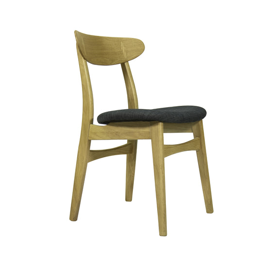 Ektra Danish Dining Chair front side