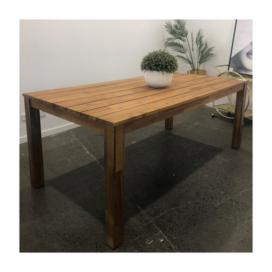 200cm Euro Italia Timber Table