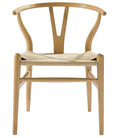 Hans Wegner Wishbone Chair Natural