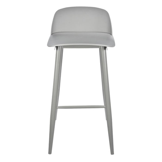 Nerd Boomer Bar Stool Grey